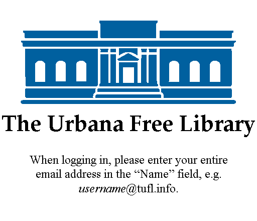 The Urbana Free Library Logo